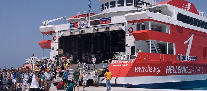 From Rafina ferry port to Athens Airport, Greece